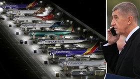 Babišův fond expanduje na Balkán. Koupil opravnu letadel v Srbsku