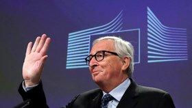 """""""Cítil jsem se jako rodinný psycholog,"""" loučil se Juncker. A zmínil lásku svého života"""