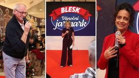 Bílá, Kerndl a Bubílková zahájili Vánoční jarmark Blesku! Jak to probíhalo?