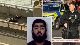 V Londýně útočil džihádista (†28). Z vězení vyšel před rokem, měl v hledáčku i premiéra