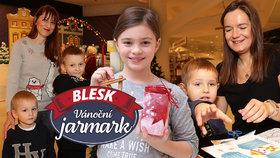 Nejoriginálnější trhy v Česku jsou v plném proudu: Takhle si děti užívají vánoční městečko!