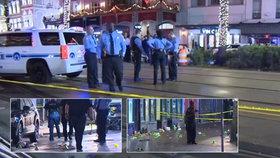 Střelba v centru New Orleans: 11 zraněných, policie zadržela jednoho člověka