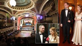 Hřibova manželka na pražském plese: Řekla, jak to mají doma! Tančila v róbě od slavné příbuzné