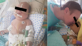 """Chlapeček (11 měs.) umíral hodiny bez mámy: """"Jste jako hyeny!"""" vzkazuje lékařům zdrcená Marcela"""