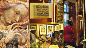 """Kdy u nás zazněly první koledy? Muzeum Karlova mostu ukazuje netradiční betlémy i """"řvoucí píšťalu"""""""