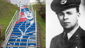 Rval se za vlast s nacisty, uštvali ho komunisté. Josefa Brykse (†41) na Černém Mostě připomíná schodištní portrét