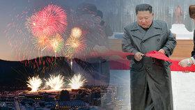 Kim otevřel letovisko pro 4000 rodin, kde si i zalyžují. Zapřáhl brigádu mládeže