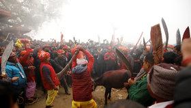 Nejkrvavější masakr na světě! Věřící pobijí statisíce zvířat