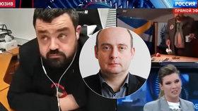 Šokující forma, bytelný obsah. Novotného za výstup v ruské televizi pochválil i expert
