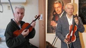 Přiznání houslisty Svěceného: Byl krůček od smrti! Kvůli čemu?