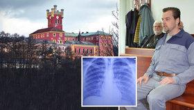 Vrah Petr Kramný (41) ve vážném ohrožení! Desítky vězňů na Mírově schvátila epidemie černého kašle!