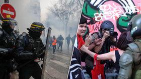 Obří protesty za důchody: Potíže pro Macrona. O polovinu vyšší penze slíbili v Chile