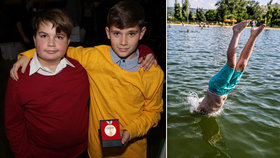 Statečný hrdina Robert (12). Kamaráda, který se topil, vyrval ze spárů smrti
