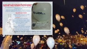 Vánoční balónek letěl do Rakouska z Netolic: Neznáte chlapce, který ho při vítání zimy vypustil?