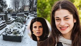 Pohřeb herečky z Národního (†27): Srdce z bílých růží a vzkaz jediné kolegyně!