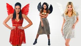Svlékli jsme 11 sexy andělů! Prachařová, Pomeje, Perkausová a další tasily své vnady