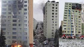 ONLINE: Výbuch mě odhodil, byla jsem v bezvědomí, syna (9) zavalily dveře! Hodinu nikdo nešel, pláče Alena