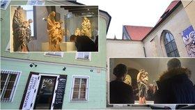 Krásné madony s Ježíškem v náručí: Anežský klášter osídlily Marie ze Salcburku i Prahy