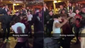 Na vánočních trzích propukla hromadná rvačka: Kvůli čepovanému pivu se servalo 12 lidí