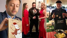 """Babiš i Fiala """"nasávají"""" Vánoce, Monika vytáhla na Špindl. Kdo z politiků už má dárky?"""