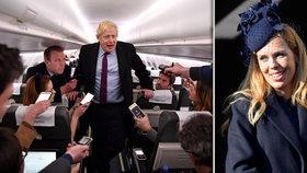 """Milence chce dát k Vánocům brexit. Johnson čelí kritice za letadlo i """"Lásku nebeskou"""""""