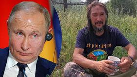 """Šaman šel """"vymítat démona"""" Putina. Znovu skončil ve vězení, """"čapli"""" ho už cestou do Moskvy"""
