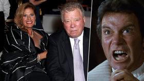 Kapitán Kirk ze Star Treku požádal o rozvod: Po 18 letech manželství!