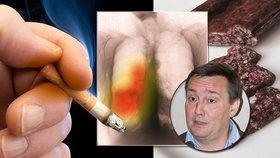Kouříte a jíte uzeniny? Téměř 100% jistota plicní nemoci, varuje lékař