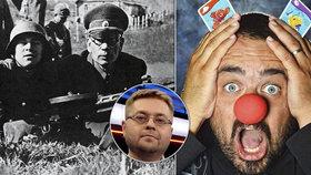 """Rus, který se zastal Čechů: Novotný nahrál propagandě a jejímu """"bálu gayů s nacisty"""""""