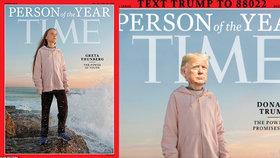 """Uklidni se."" Trump si utahuje ze ""spratka"" Grety a posílá ji do kina s kamarádkou"