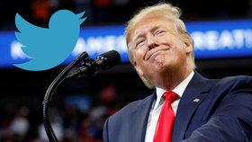 """Trump """"strhnul počítadlo"""" twitteru. Hrozící žaloba ho vybičovala k nebývalé aktivitě"""