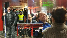 VIDEO: Operní hvězdy na hlavním nádraží! Cestující se nestačili divit, co se kolem děje
