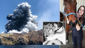 Studentku (†21) zabila sopka. Její otec a sestra bojují v nemocnici o život
