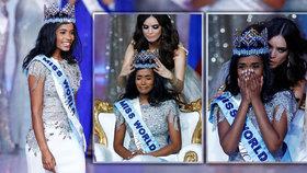 Tahle kráska si odnáší titul Miss World 2019. Češka ve finále chyběla