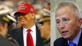 """Přeběhlík utíká za Trumpem, ten prvního sněmovního dezertéra chválí: """"Jsi čestný"""""""