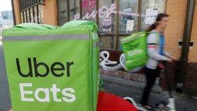 Uber v Česku končí s rozvozem jídla. Společnost opouští i Ukrajinu a Rumunsko