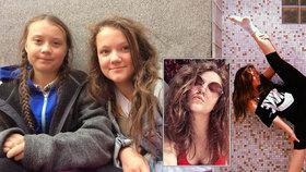 """Greta a sestra Beata: Společné Vánoce i nemoci. """"Hysterka"""" se po cestě domů omlouvala"""