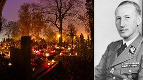 Někdo se pokusil vykrást Heidrichův hrob: Chtěl odnést pozůstatky válečného zločince!