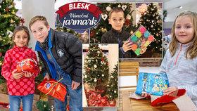 Ježíškova kancelář z Jarmarku Blesku hlásí: Mnoha dětem už jsme udělali radost!
