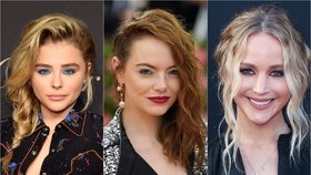 Párty líčení podle celebrit: Třpytivé linky a barevné stíny