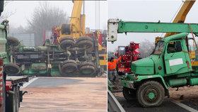 Dálnici D10 zablokoval spadlý jeřáb: V Mladé Boleslavi zkolabovala doprava!