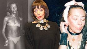 Trpký osud Františky Čížkové (†67) na nikdy nezveřejněných fotkách! Do anorexie spadla kvůli výtce nevěrníka
