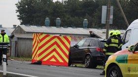 Na silnici na Českolipsku ležel muž, řidič ho přes zamlžené sklo neviděl a přejel ho