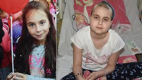 Ježíšku, prosím, uzdrav mě! Přeje si Adélka (9) s leukemií, o život už bojovala dvakrát