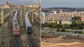 """Pražské železnice čeká """"velký třesk,"""" přibyde hned několik stanic. Kdy a kde budou?"""