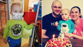 Janka (2) zachrání jen transplantace: Pomoc pro něj hledají i v zahraničí!