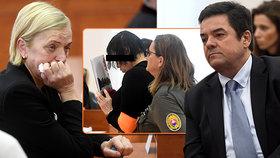 Vražda Kuciaka u soudu: Šokující záběry! Objednavatelka se smála a šklebila, rodiče se zhroutili