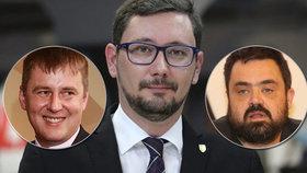 """Do Rusů se za kritiku 21. srpna pustil Babiš i Ovčáček. A Novotný se """"rafl"""" s Petříčkem"""