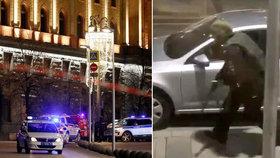 Útočník s kalašnikovem vystřílel ústředí ruské tajné služby. V Moskvě se ozvala i exploze