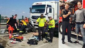 Jirkovi zachránili hasiči při bouračce na motorce život, nyní se mu složí na protézu